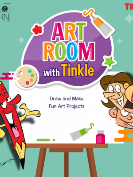 Tinkle Art Room – Batches starting Tuesday