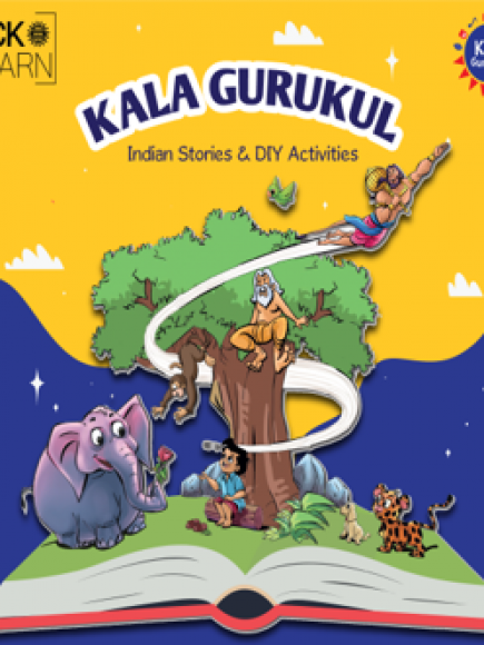 Kala Gurukul Storytelling (4 to 6 yrs) Batch starting Tuesday