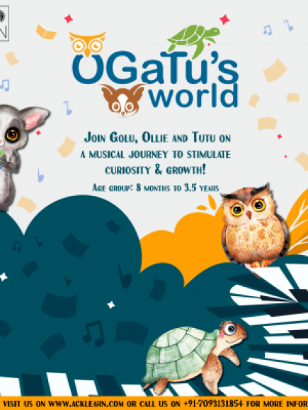 Ogatu's World (10 months to 3.5 yrs) Batch starting Tuesday
