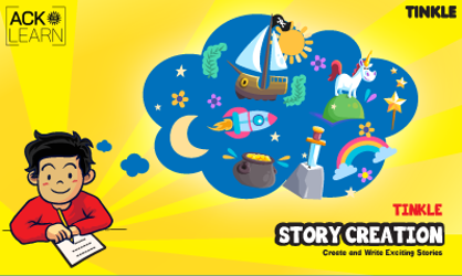 Tinkle Story Creation 7 to 10 V2