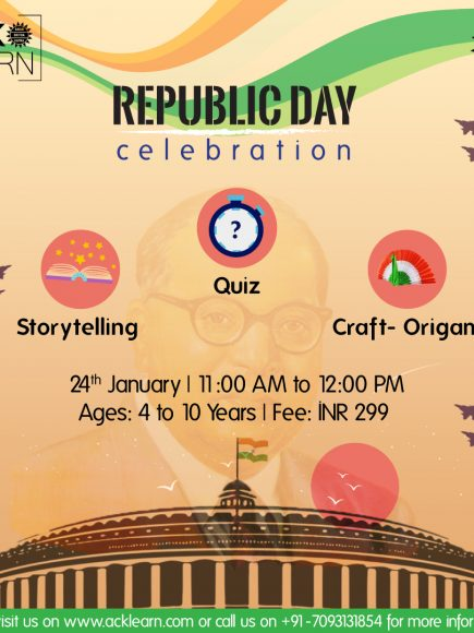 Republic Day Celebrations Special Workshop