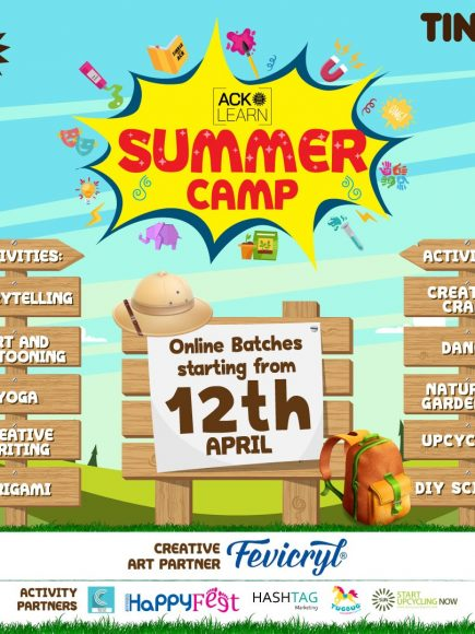 ACK Learn Online Summer Camp for 4-6 years